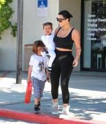 Kim Kardashian - Leaving Miss Melodee Studios in Woodland Hills 3/26/15