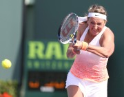 Victoria Azarenka - 1st round of the Miami Open Tennis tournament in Key Biscayne March 25-2015 x3