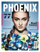 Sophie Turner - Breathtaking in Phoenix Magazine, Spring 2015 x3HQ