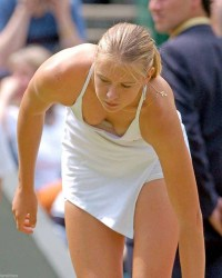 Maria Sharapova: Revealing On-Court Pics - HQ x 2