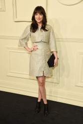 Dakota Johnson - CHANEL Paris-Salzburg 2014/15 Metiers d'Art Collection in NYC 3/31/15