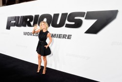 "Elsa Pataky - Attends ' ""Furious 7"" premiere 4/01/15"