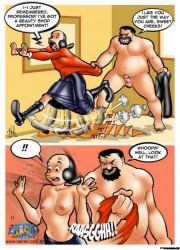 Popeye porno Comics Cartoon Boondocks porno