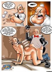 Popeye-Porno-Comics Schwarze weibliche Sexgeschichten