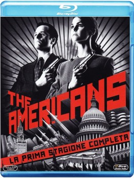 The Americans - Stagione 1 (2013) [3-Blu-Ray] Full Blu-ray 120Gb AVC ITA FRE DTS 5.1 ENG DTS-HD MA 5.1